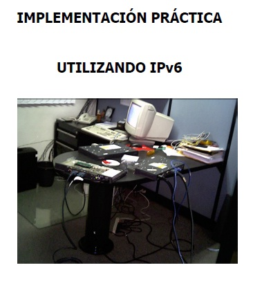 Implementación IPv6